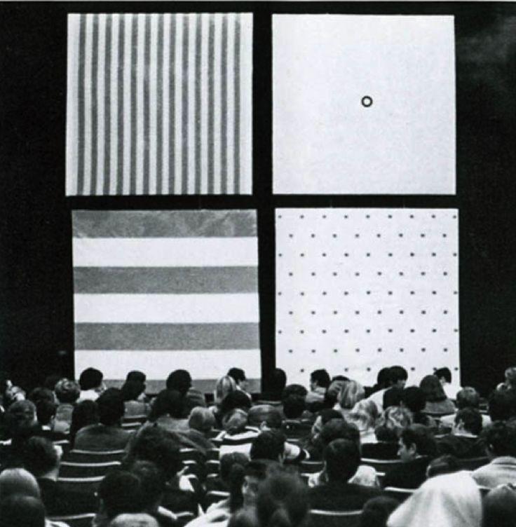 BMPT  18ème salon de la jeune peinture   1967