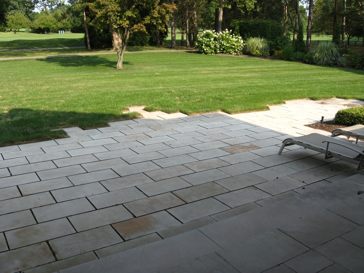 Infinite patio / sandstone