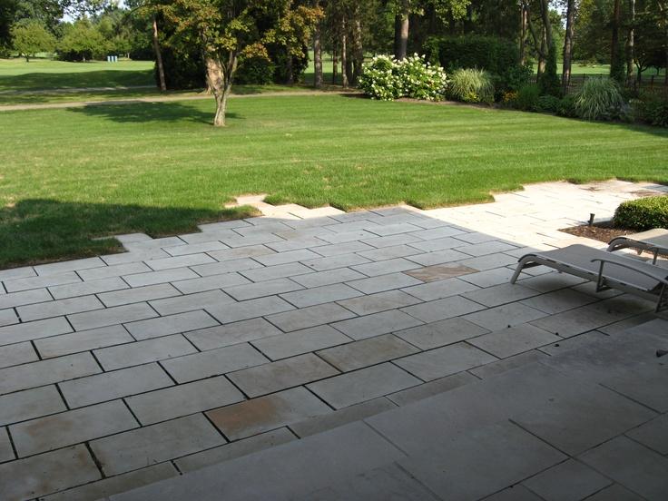 Infinite patio / sandstone