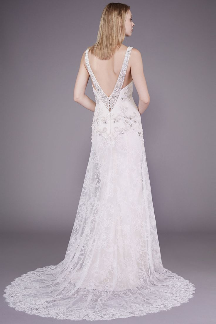 Awesome Paulina by Badgley Mischka Collection Wedding Dresses guidesforbrides co uk