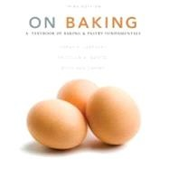 """On Baking, Third Editionbrings a fresh new design and 350+ new images to the """"fundamentals"""" approach that has prepared thousands of students for successful careers in the baking and pastry arts. It teaches both the """"hows"""" and """"whys,"""" starting with general procedures, highlighting core principles and skills, and then presenting many applications and sample recipes."""