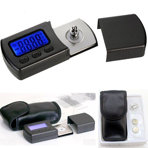 Yosoo Professional Vesion LP Digital Turntable Stylus Force Scale Gauge led dzr