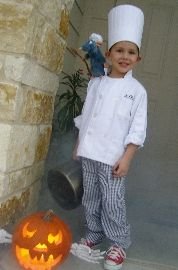 Disney Ratatouille Linguine Chef Costume photo