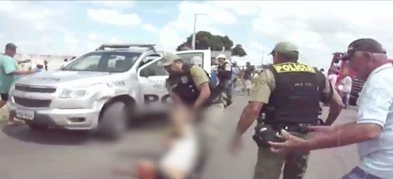 Morre estudante baleado por PM durante protesto em Itambé
