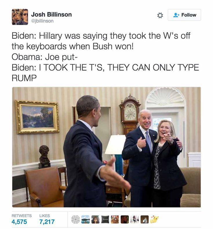 Funniest Memes About Biden And Obama Pranking Trump Obama Biden Joe Obama Joe Biden