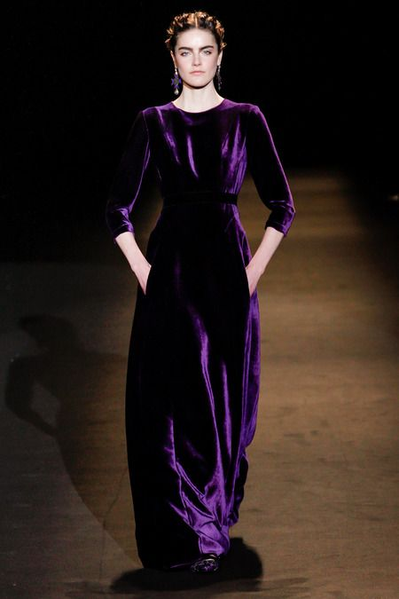 Vintage Inspired  Alberta Ferrite Fall 2013 RTW never disappoints