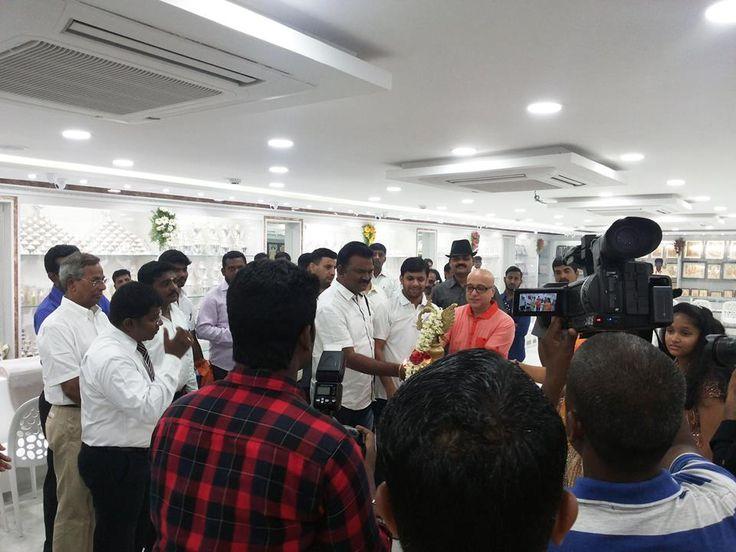 Lalithaa Jewellery Anna Nagar Showroom opening celebrations kiran kumar Lalithaajewellery