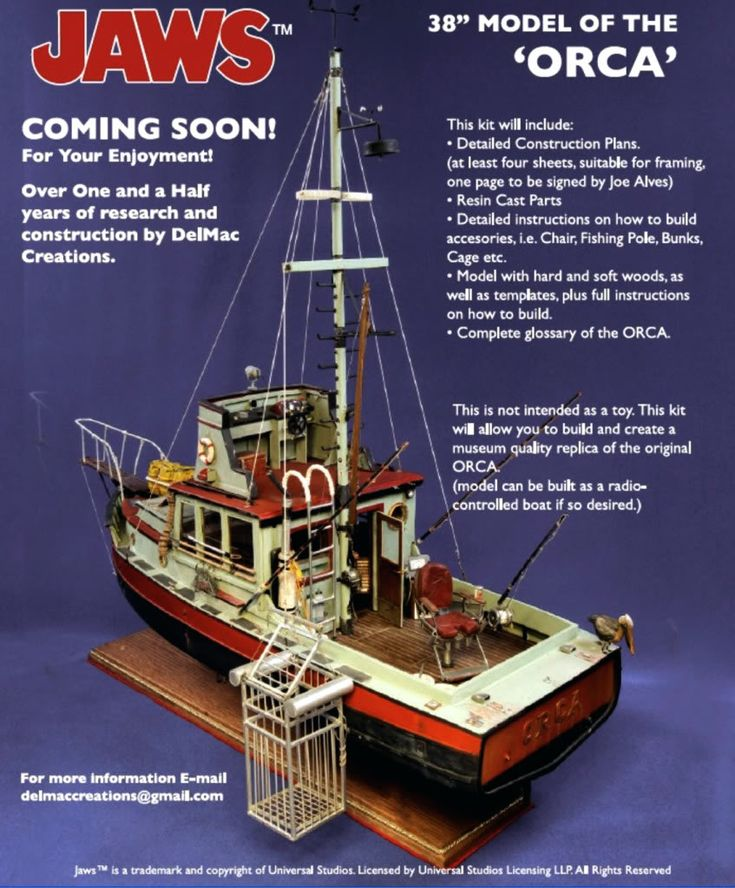Jaws Orca model kit? in 2019   Model Kits and Ephemera ...