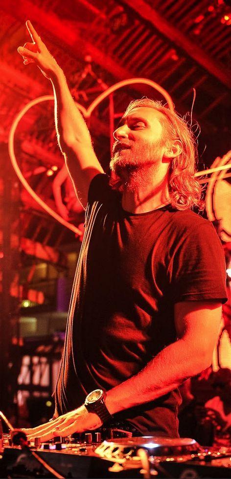 David Guetta at Ushuaïa Beach Ibiza