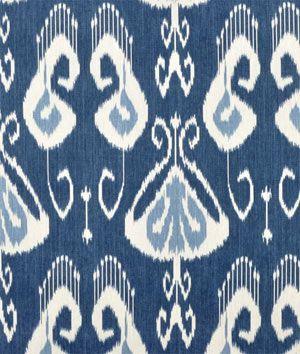 Portfolio Bansuri Iris Fabric - $31.3 | onlinefabricstore.net #blue #ikat