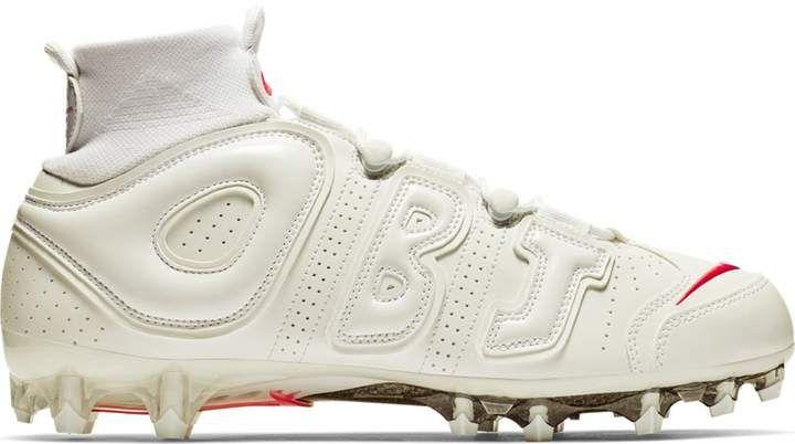 Nike Vapor Untouchable Pro 3 Obj Uptempo White In 2020 Obj Football Nike Vapor Football Cleats