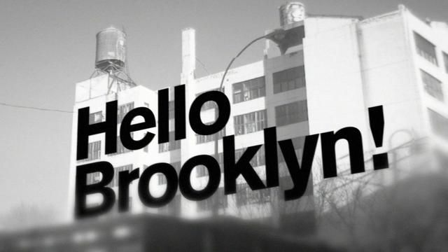 "Jay-Z - ""Hello Brooklyn"" (Marvin Gaye sample).  Music video based on typography and still images of Brooklyn.  Production, SFX, animation and edit by Greg Solenström.   Starring: Akzidenz Grotesk & Brooklyn.  Also watch the ""Making of"" video here: http://vimeo.com/10900459"