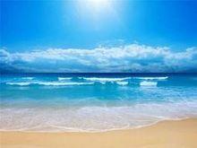 Mavi Deniz Mavi Gökyüzü İzlandalı manzara Serisi Elmas Dekoratif Boyama Çapraz Dikiş Taklidi Duvar Sticker Sanat Ev Dekor(China (Mainland))