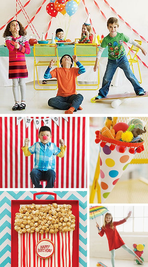 The Greatest CIRCUS Party on Earth! http://www.parents.com/fun/birthdays/themes/circus-theme-birthday-party/?socsrc=pmmpin051412carnivalbdayparty