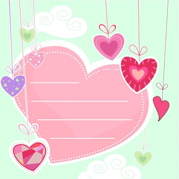 Postales de San Valentín para imprimir