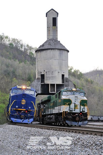 Norfolk & Western and Southern Railway Heritage Engines