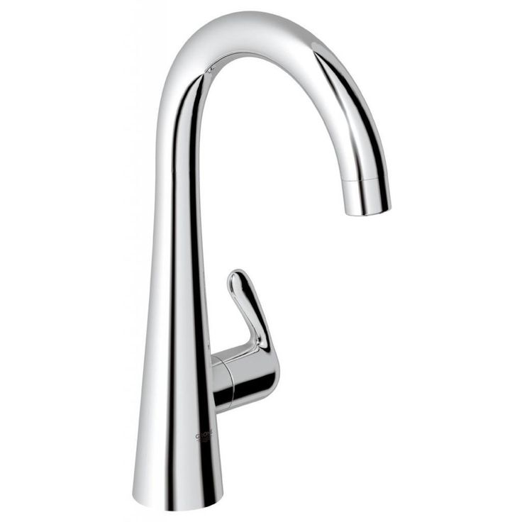 Grohe Starlight Chrome (Grey) Zedra/Ladylux Pillar Tap Bathroom Faucet (Starlight Chrome)