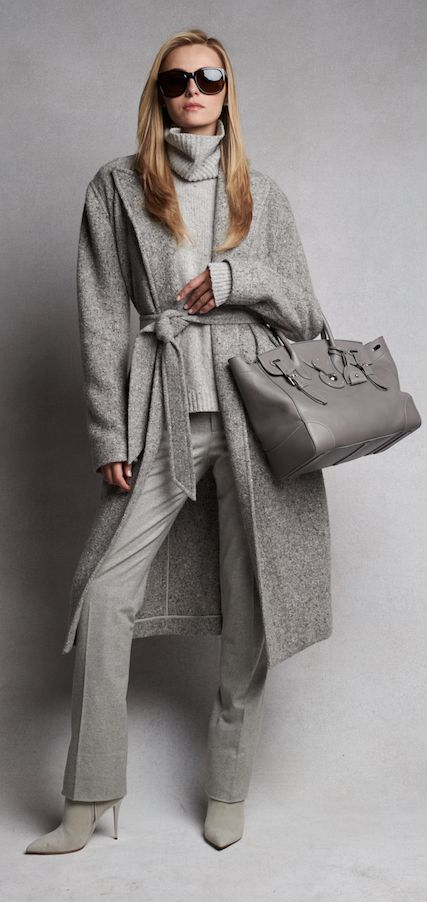 Effortless Luxe: pre-order the Fall 2015 collection crafted from sumptuous cashmere, suede, and satin in soft tonal hues...