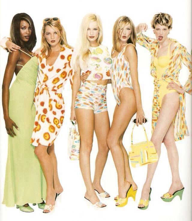 Naomi Campbell Kate Moss Flaunts Their Sizzling: 154 Best Karen Mulder Images On Pinterest