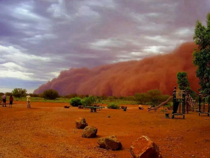 Sandstorm in Potchefstroom