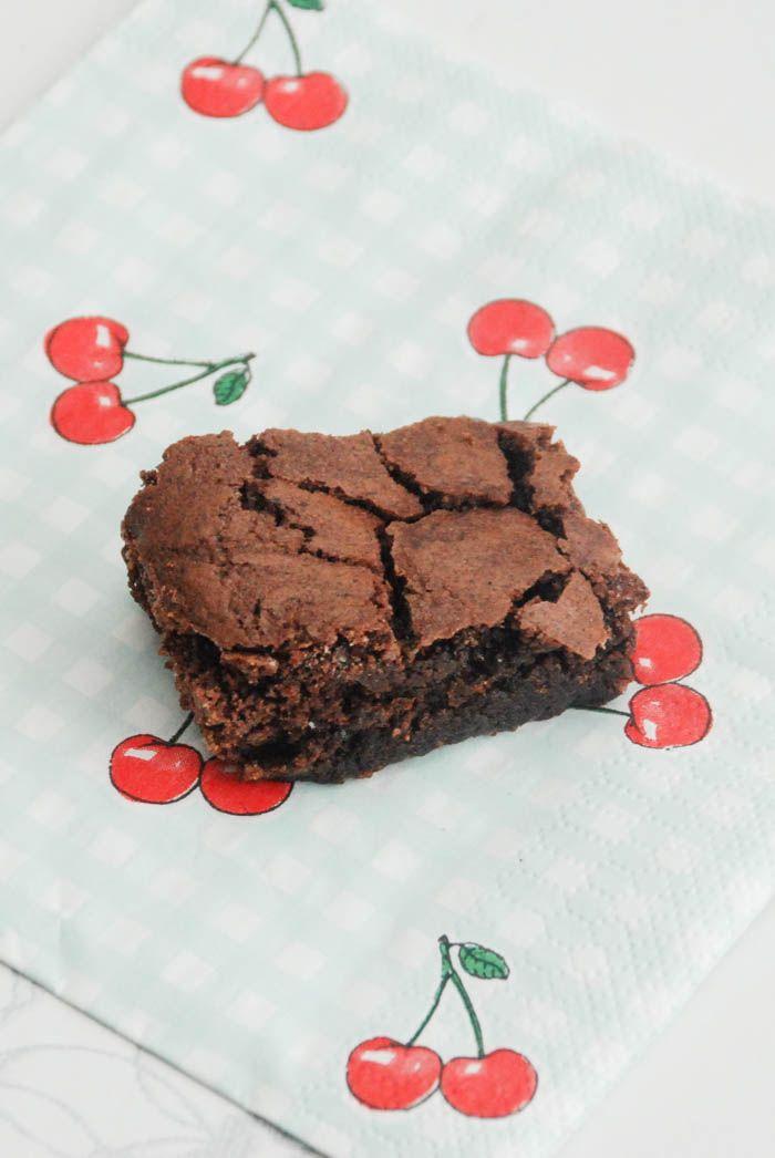 Brownies opskrift fra Bageglad.dk