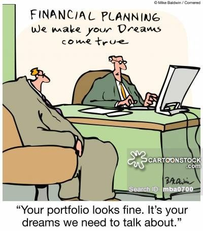 Financial Planner Cartoons And Comics Funny Pictures