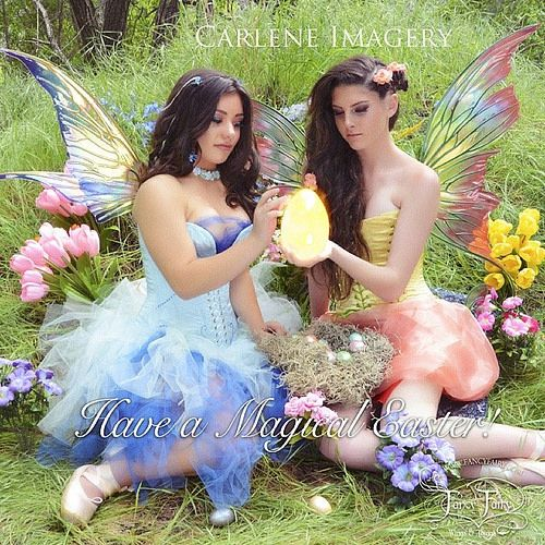 Here's to spring and all the beauty it brings Feel free to use the share button and tag your friends. Photo by Carlene Imagery Costumes by MelodyBB Models Sophia Astone and Jenna Chapman #easter #flowerfairies #fairies #fairytalelife | Flickr - Photo Sharing!