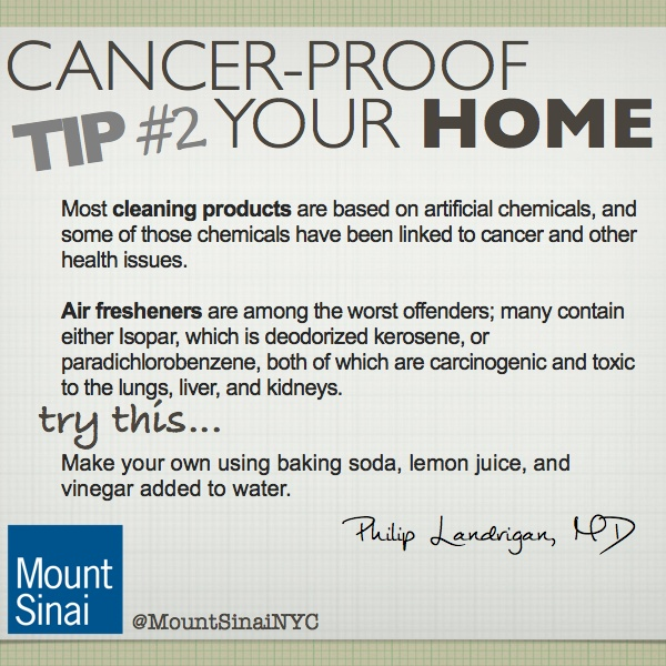 Cancer Proof Your Home Tip 2 Be Aware Of Toxic Cleaning