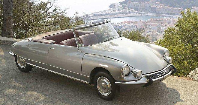 Citroen DS cabriolet Chapron  Plus de découvertes sur Le Weblog des Tendances.fr…