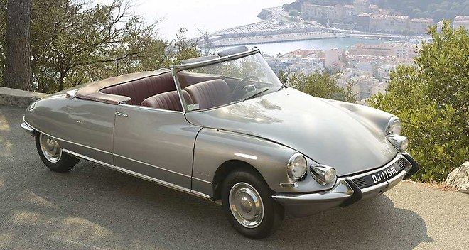 Citroen DS cabriolet Chapron  Plus de découvertes sur Le Blog des Tendances.fr…