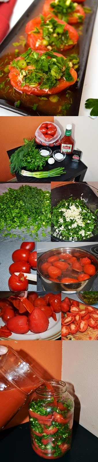 """Lea's Cooking: """"Marinated Tomatoes in Ketchup"""" Ready in 2 days!!!"""