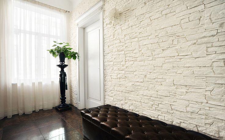 декоративный камень белый в интерьере: 19 тыс изображений найдено в Яндекс.Картинках