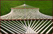 Macrame hammock pattern
