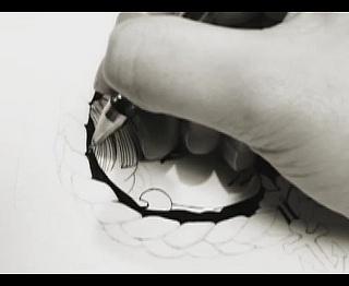 The making of my drawing.  by yukari terakado, via Flickr