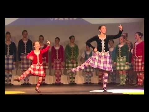 Scottish Highland Dance at Disneyland Paris 2011 | All 'Scottish' Dance... [.'200'..+Playlist.]