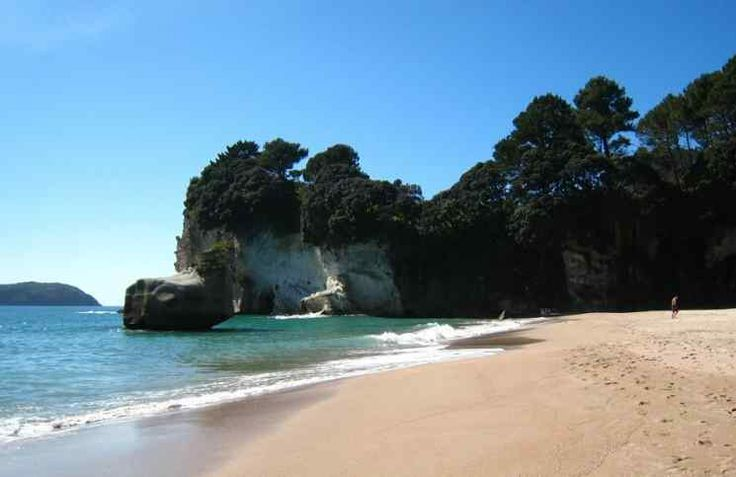 Awesome Hot Water Beach in New Zealand