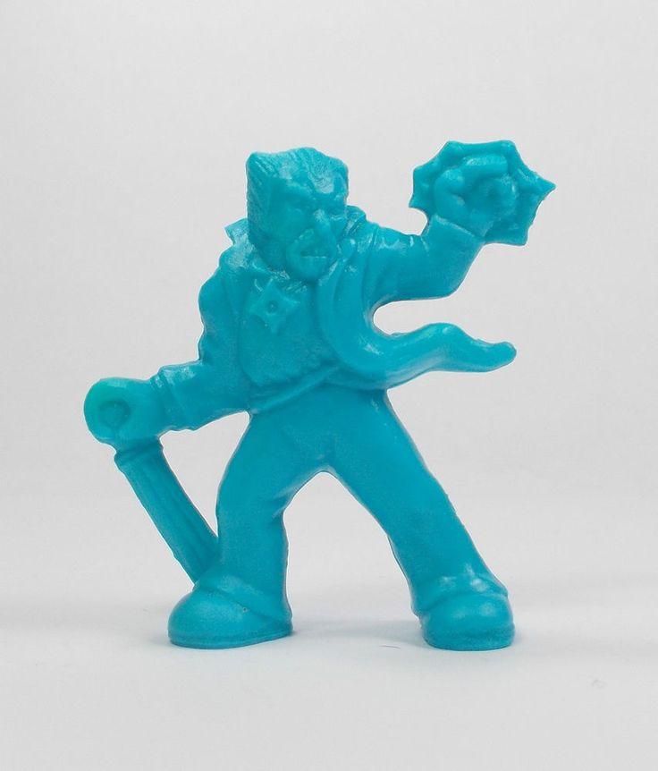 Monster In My Pocket - Series 2 - 51 Warlock - Neon Blue