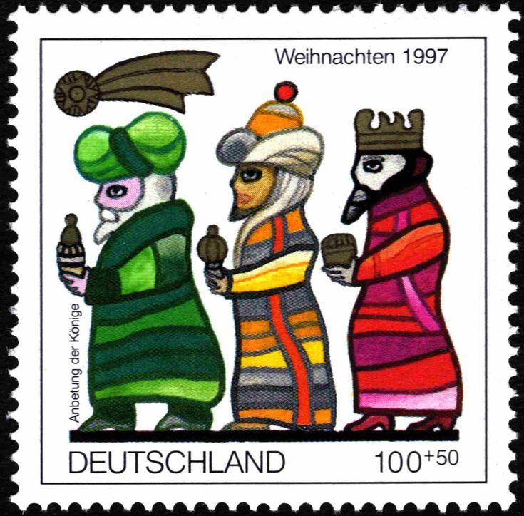 Briefmarke The Three Kings (Deutschland (BRD