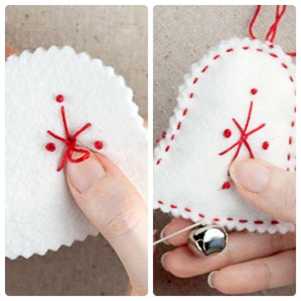 Tutorial para hacer adornos navideños