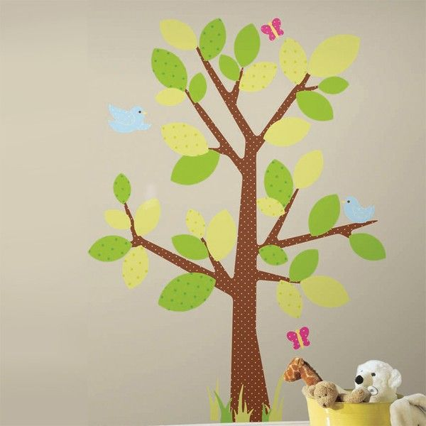 Lovely Funky Kids Tree Wall Stickers By RoomMates. These Wall Stickers Are  Re Usable And Completely Repositionable.