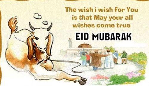 Bakrid Wishes 2017 Bakra Eid Whatsapp DP-SMS in Hindi-English-Urdu