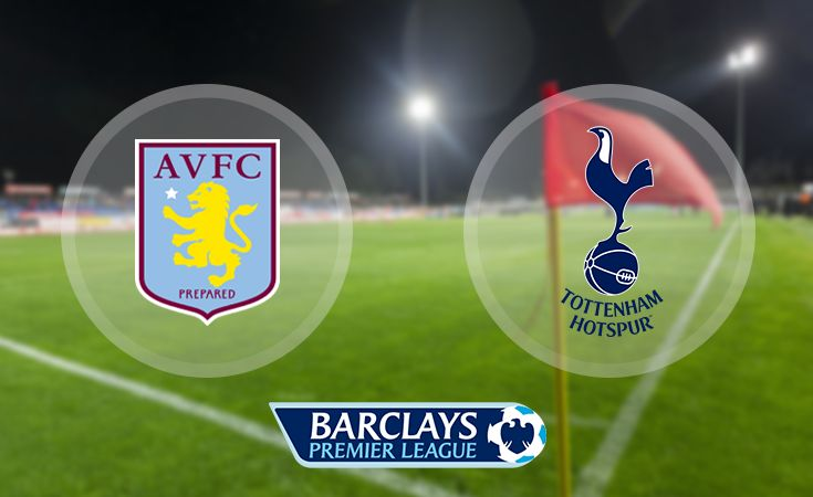 Tottenham Hotspur vs Aston Villa Premier League Match Day 11 November 2nd, 2015 Kick Off: 20:00 (GMT), 3:00 PM (EST) Venue: White Hart Lane TV: Sky Sports 1 (UK), NBC Sports Network (US) Tottenham Hotspur vs Aston Villa Watch Live Here  http://livetv24.us/sky-sports-1-hd/