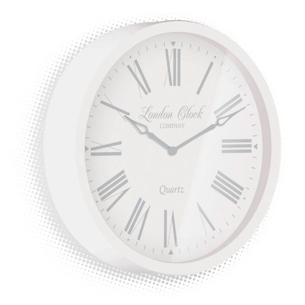 London Clock Company - ALICE - White 30cm
