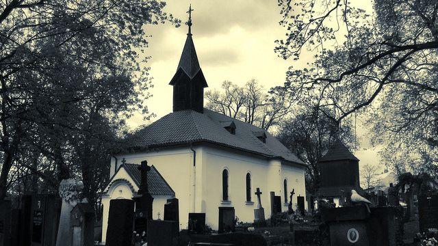 Kostel sv. Vavřince, Jinonice #Prague