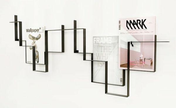 Frederic Roje Zeitungshalter Wand Metall