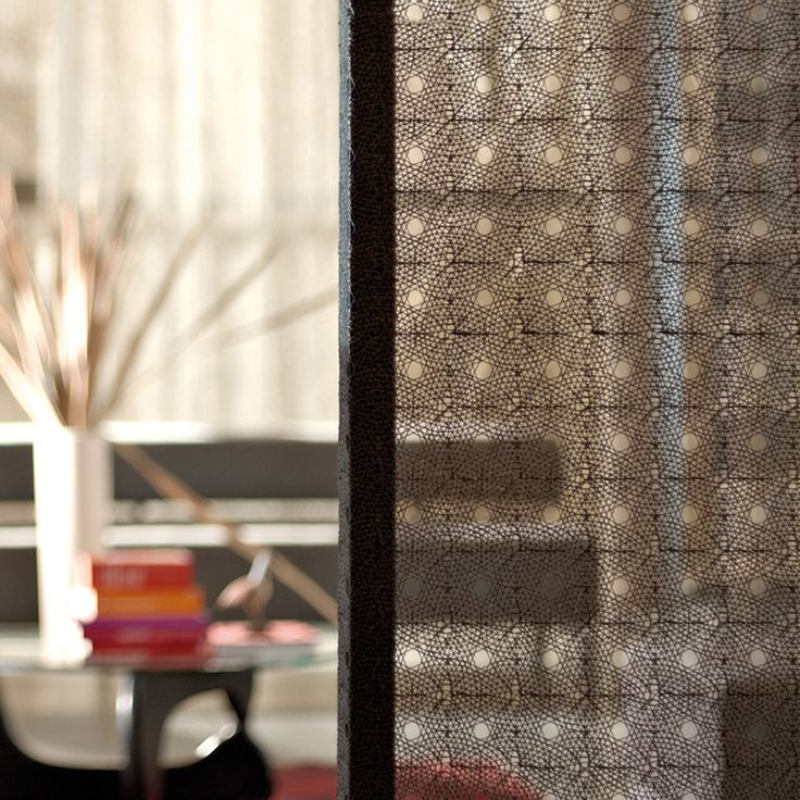 TEX GLASS a laminated glass product with beautiful fabrics encapsulated inside. The range has been carefully chosen, selecting exclusive fabrics from the Nya Nordiska collection, which includes award winning fabric designs. TEX GLASS is used to create