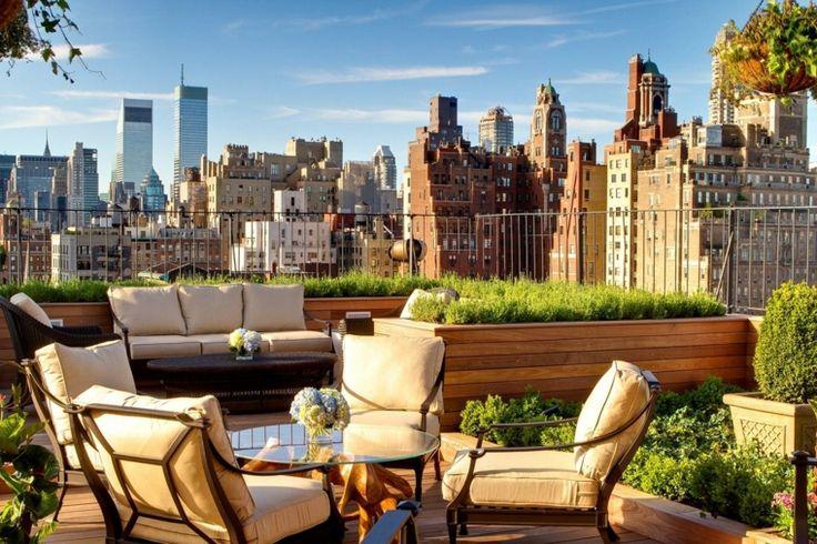 aménagement de terrasse : idée de décoration moderne
