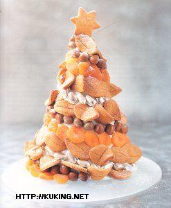 Рождественская елка из печенья