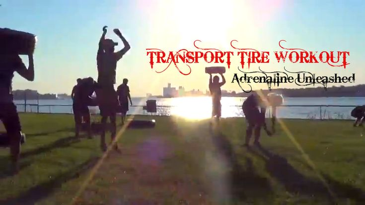 Extreme Fitness. Transport Tire Workout!