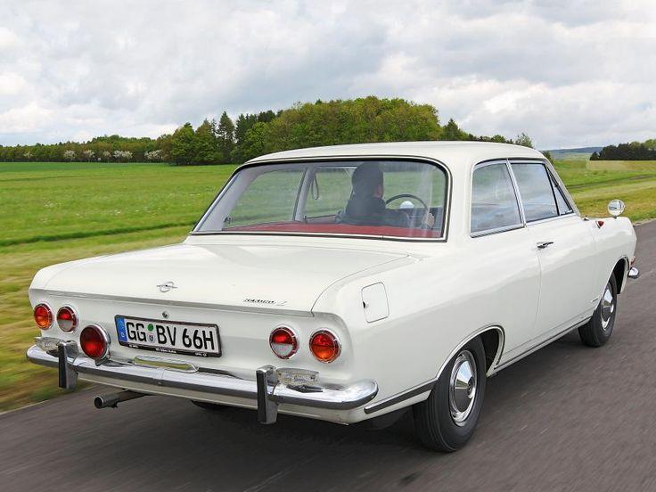 Opel Rekord 1,9 L (Version 1,5 L) ☺